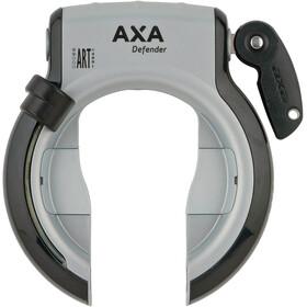 Axa Defender Cykellås Udtrækkelig, silver